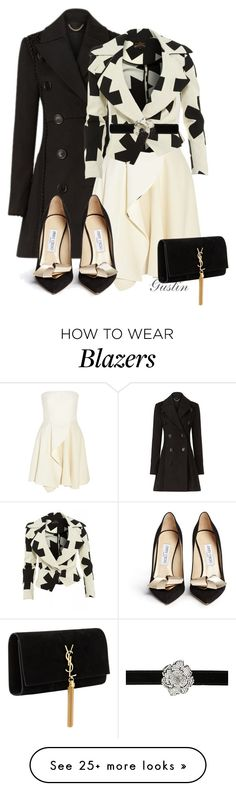 """""""winter"""" by stacy-gustin on Polyvore featuring Burberry, STELLA McCARTNEY, Vivienne Westwood Anglomania, Giuseppe Zanotti, Jimmy Choo, Yves Saint Laurent and ootd"""