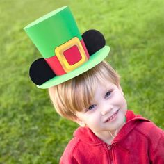 Mickey Mouse St. Patrick's Day Leprechaun Hat