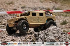 Hungarian Rc Crawler and Scale 4x4 Rc Trial Club_Brumca -AM General HMMWV-M1044_Budaörs_2017