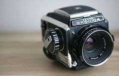 Zenza Bronica S2 SLR medium format film camera