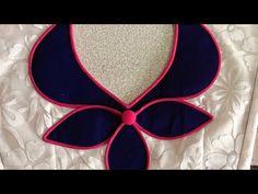 New Saree Blouse Designs, Kids Blouse Designs, Hand Work Blouse Design, Simple Blouse Designs, Churidhar Neck Designs, Neck Designs For Suits, Neckline Designs, Dress Neck Designs, Gala Design