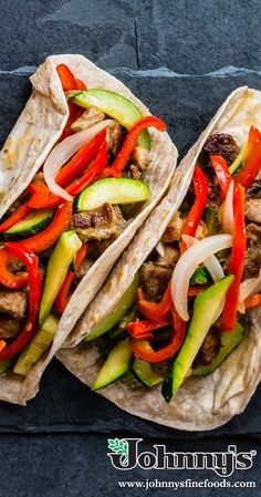 Enjoy our brand new Adobo Cooking Sauce with some street tacos! Cooking Sauces, Street Tacos, Red Peppers, Pulled Pork, Quick Meals, Cilantro, Veggies, Stuffed Peppers