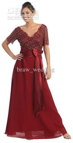 Wholesale MOTHER OF THE BRIDE DRESS PLUS SIZE FORMAL EVENING GOWN B-975, Free shipping, $110.88-122.08/Piece | DHgate