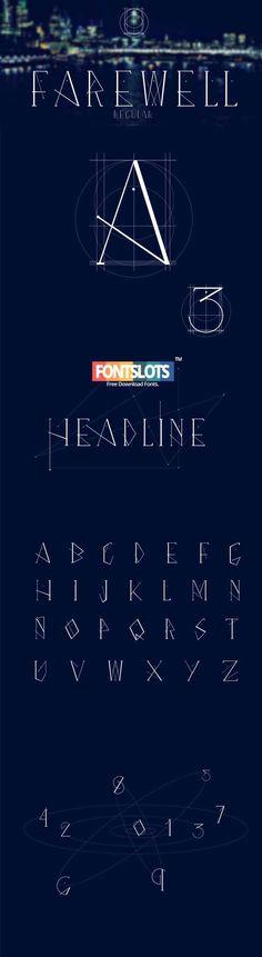 Farewell Regular Font