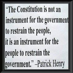 patrick henry quote - Had but Obama studied history, we might have a fighting chance....