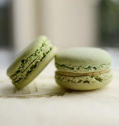 Macaron Pistache Ladurée (recette)