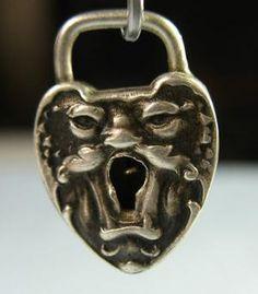 None shall pass Lock Antique Keys, Vintage Keys, Vintage Silver, Antique Silver, Skeleton Key Lock, Door Knobs And Knockers, Under Lock And Key, Old Keys, Door Furniture