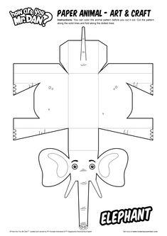 Paper Animal (Elephant)
