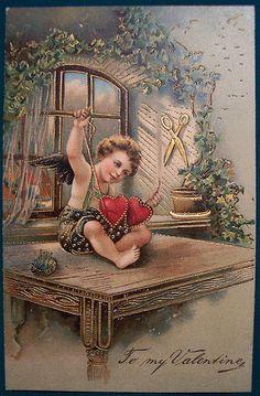 Vintage Valentine's Day Postcard  | Flickr - Photo Sharing!