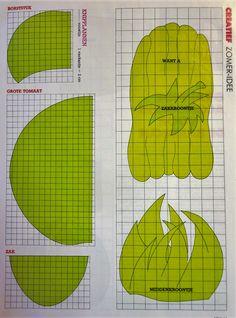 sewing pattern apron, naaipatroon schort
