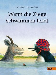 Wenn die Ziege schwimmen lernt von Nele Moost http://www.amazon.de/dp/3407773005/ref=cm_sw_r_pi_dp_nHKrvb082RYG9