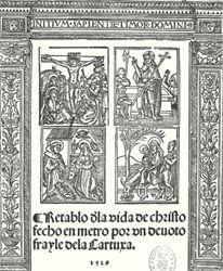 Juan de PADILLA (Autor) Miguel de Eguía (Impresor) Procedencia: Alcalá Henares, s. XVI