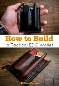 How to Build a Tactical EDC Wallet for SHTF Survival, ou never know when an emergency is going to strike, which is why survivalists practice Everyday Carry – or EDC. I'm a big fan of EDC kits and versatile multi-tools. However, not everyone wants to carry around lots of extra gear everyday. So, what better way to improve preparedness than making an EDC survival wallet. You'd be surprised how much survival gear you can fit into an EDC wallet.