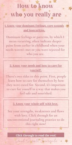 Learn how to know yourself in these foundational areas. This is the basis for self-love and believing in yourself enough to live your dream life! Click through to read more. Mental And Emotional Health, Emotional Healing, Self Healing, Vie Motivation, Self Care Activities, Self Improvement Tips, Self Awareness, Self Care Routine, Self Discovery