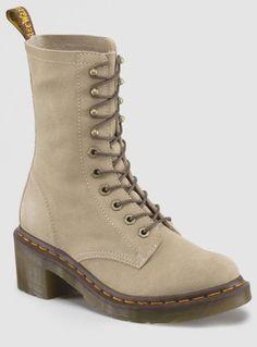 Amazon.com: Dr. Martens Womens CASEY 6 Eye 4 Tie Boot. Color/Style: MILKSHAKE.: Shoes