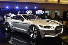 Galpin Auto Sports and Henrik Fisker have turned the 2015 Ford Mustang into the 725-horsepower, carbon fiber Rocket at this year's LA Auto Show.