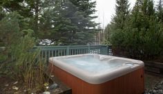 Whistler Rental Arrowhead Point #5 Private Hot Tub in Forested Setting @whistlrplatinum #vacation #rental #whistler #travel