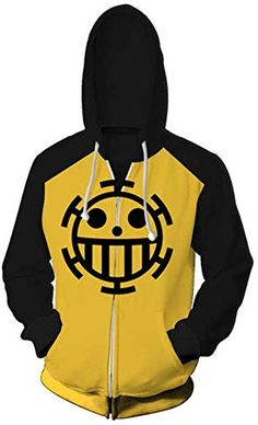 UkEdNs 3D Zipper Hoodies Men Zip Hoody Casual Sweatshirt Anime Tracksuit Pullover Coat