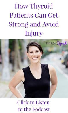 Join us as we chat with Dr. Kiberd about how thyroid patients can exercise safer and smarter to prevent injury. Thyroid Symptoms, Hypothyroidism Diet, Thyroid Diet, Thyroid Health, Thyroid Issues, Thyroid Nodule Treatment, Leaky Gut Diet, How To Regulate Hormones, Autoimmune Diet