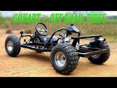 Видео: Upgrade Gokart with OffRoad Tires - Video Go Kart Frame Plans, Go Kart Plans, Toy Trucks, Monster Trucks, Go Kart Kits, Homemade Go Kart, Go Kart Buggy, Diy Go Kart, Enduro Motorcycle