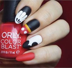 Birthday Nails Art Mickey Mouse 68 Trendy Ideas You are in the right place about nail neon summer He Cute Acrylic Nails, Glitter Nails, Cute Nails, Pretty Nails, My Nails, Mickey Mouse Nail Design, Minnie Mouse Nails, Birthday Nail Art, Birthday Nail Designs
