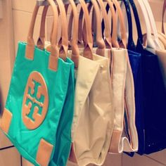 I want one of theseTory Burch totes . I would use it as my handbag, because they are so chic. Biddy Craft