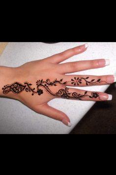 Beautiful henna art