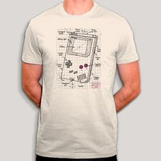Game Boy, Coton Biologique, T Shirt, Geek Stuff, How To Plan, The Originals, Retro, Boys, Mens Tops