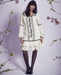 Frock & Frill Embroidered Tunic Dress