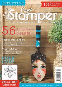 Craft Stamper Magazine Februar 2018 www.papercrafts.ch