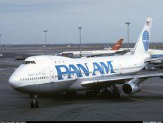 Pan American World Airways - Pan Am N747PA Boeing 747-121(A/SF)