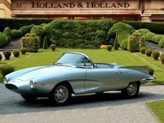1957Fiat 1200 Stanguellini Spider (Bertone)