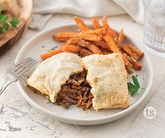BBQ Beef Hand Pies recipe | Tastefully Simples Frozen Puff Pastry, Puff Pastry Sheets, Beef Dishes, Food Dishes, Magic Chicken, Smoky Bacon, Bbq Bacon, Slow Cooked Beef, Tastefully Simple