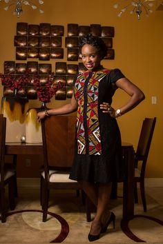 Inspiration - Jokotade dans une robe Ada Kwube - Pagnifik
