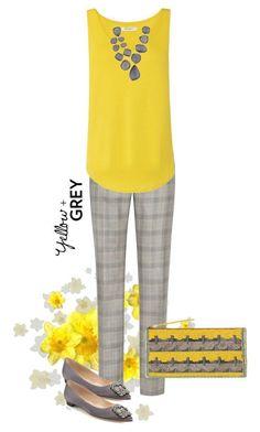Poised not Passe' - Stylish fashion for women over 50 #manoloblahnikyellow #womensfashionclothingover50 #FashionTrendsForWomenOver50