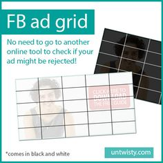 Click to download the Facebook ad grid for free