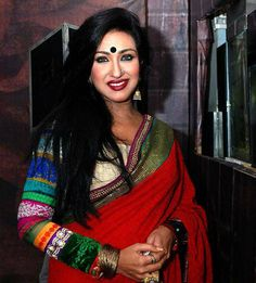 Rituparna Sengupta to act in another Bollywood project - Bongo Adda Sexy Blouse, Film Industry, Hot Actresses, Bridal Looks, Bollywood Actress, Yards, Desi, Houston, Acting