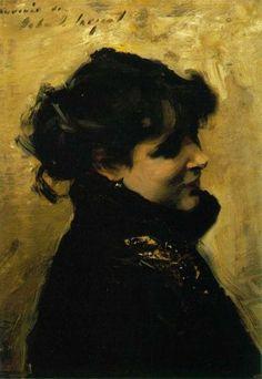 John Singer Sargent | Eugenia Huici Arguedas de Errázuriz (1882)