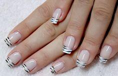 """Linda """"francesinha de zebra""""... Tudo para suas unhas em: www.lojadeesmaltes.com.br"""