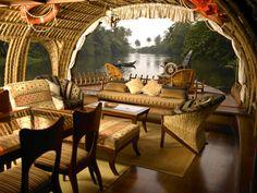 From Inside a Houseboat in Kerala by Scoopwhoop
