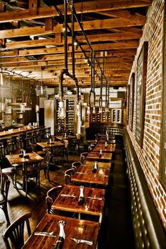 Salt Factory - Salt Factory Pub gastropub restaurant with 3 locations in Woodstock, Kennesaw and Roswell Decoration Restaurant, Design Bar Restaurant, Deco Restaurant, Rustic Restaurant, Pub Decor, Cafe Bar, Pub Bar, Pub Interior, Restaurant Interior Design