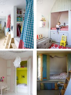 a place of their own. re-purpose the extra second closet to a hide-away. Since my kids won't stay out of their closets anyway...