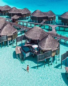 Overwater Bungalow in Maldives. 20 Amazing Hotels In Striking Locations You Must Visit. Overwater Bungalow in Maldives. 20 Amazing Hotels In Striking Locations You Must Visit. Beautiful Places To Travel, Beautiful Hotels, Cool Places To Visit, Places To Go, Amazing Hotels, Vacation Places, Dream Vacations, Vacation Spots, Travel Aesthetic