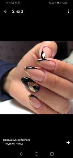 Nail Art Designs Videos, Nail Designs, Uñas Fashion, Cute Acrylic Nails, Stylish Nails, French Nails, Winter Nails, Nail Colors, Makeup
