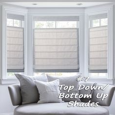 Window Treatments Trends for 2015 - Top Down/Bottom Up Shades