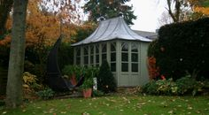 Chelsea Summerhouse by HSP Garden Buildings Garden Houses, Garden Buildings, Gazebo, Chelsea, Shed, Home And Garden, Outdoor Structures, Kiosk, Pavilion