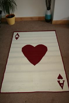 Ace Of Hearts Rug