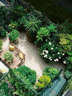 Chicago Dachgarten - Like_to_listen_Music_in_such_a_House - Terrasse Rooftop Terrace Design, Rooftop Patio, Patio Roof, Terrace Garden, Rooftop Decor, Rooftop Lounge, Rooftop Bar, Backyard Patio, Apartment Backyard
