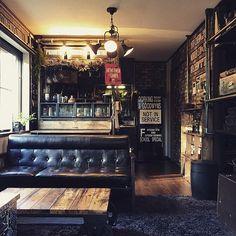 人気の男前なカフェ風インテリアをご紹介!長居したくなるほど素敵なインテリア | RoomClip mag | 暮らしとインテリアのwebマガジン