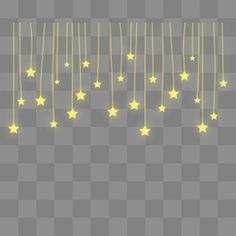 Estrellas flotantes